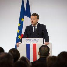 """Prancūzijos prezidentas atliks vaidmenį spektaklyje """"Petia ir vilkas"""""""