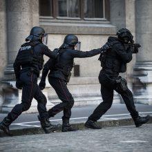 Prancūzijos policija sulaikė moterį, grasinusią susprogdinti ligoninę