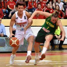 Lietuvos krepšininkės praleis antrąjį Europos čempionatą iš eilės