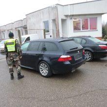 Kalvarijos pasieniečiai sulaikė du Vokietijos teisėsaugos ieškotus automobilius
