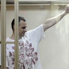 Rusijoje kalinamas ukrainiečių režisierius O. Sencovas neprašys V. Putino malonės