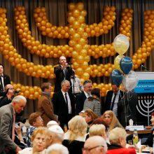 Holokaustą išgyvenę žmonės visame pasaulyje dalyvavo Chanukos ceremonijose