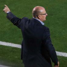 """""""Žalgirio"""" treneris V. Urbonas: """"Sevilla"""" parodė savo jėgą"""