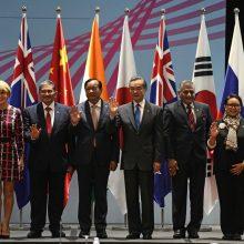 Azijos valstybės smerkia realią prekybos karo tikimybę