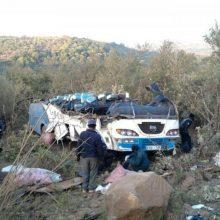 Kenijoje autobusui nuo tilto nulėkus į upę, žuvo mažiausiai 17 žmonių