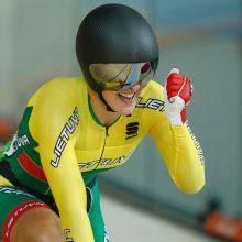 Lietuvos dviratininkai Portugalijoje susižėrė aštuonis medalius