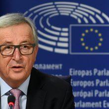 """J.-C. Junckerio penki galimi ES """"ateities keliai"""""""