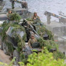 Latvijoje vasarą vyks didelio masto NATO karinės pratybos