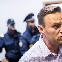 A. Navalno administracinio arešto laikas baigėsi