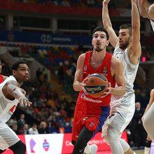 CSKA krepšininkai sutriuškino Juodkalnijos ekipą