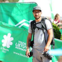 Fotografas V. Dranginis olimpinėje dienoje: 42 tūkst. žingsnių, olimpiečių medžioklė