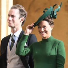 Kembridžo kunigaikštienės seseriai P. Middleton gimė sūnus