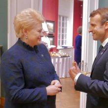 Kitąmet į Lietuvą atvyks Prancūzijos prezidentas E. Macronas