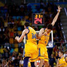 """""""Herbalife Gran Canaria"""" krepšininkai patiesė """"Budučnost"""" ekipą"""