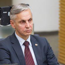 Seimo narys P. Urbšys apklaustas STT Panevėžio mero korupcijos byloje