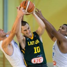 Lietuvos šešiolikmečių rinktinė Europos krepšinio pirmenybėse pateko į pusfinalį