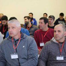 Jonavoje – sporto specialistų iš Izraelio vizitas