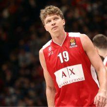 Lietuviai pergalę iškovojusiai Milano komandai pelnė 16 taškų