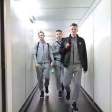 Lietuvos futbolo rinktinė atvyko į Rumuniją