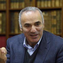 G. Kasparovas: kitas V. Putino taikinys gali būti Baltarusija