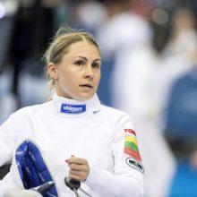 L. Asadauskaitė-Zadneprovskienė po traumos sugrįžo pergalingai