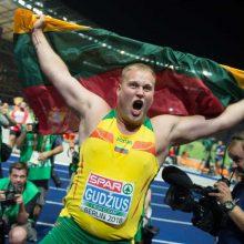 Europos čempionatų medalių įskaitoje Lietuva – 16-a
