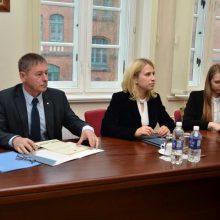 Klaipėdos universitete darbus pradeda naujoji Taryba