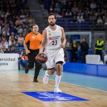 """""""Real"""" krepšininkai užtikrintai įveikė """"Olympiakos"""" komandą"""