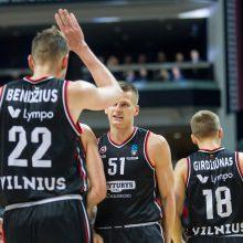 """LKL: Vilniaus """"Rytas"""" vos išvengė nemalonios sensacijos Kėdainiuose"""