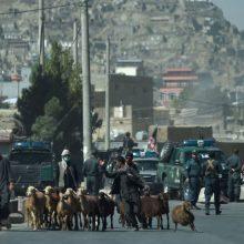 Afganistane apšaudyta karinė bazė, kur tarnauja Lietuvos kariai