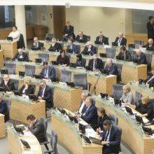 Seime pritarta Privalomojo sveikatos draudimo fondo biudžetui