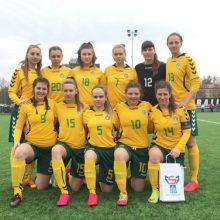 Antroji Lietuvos 17–mečių merginų futbolo rinktinės pergalė Taline
