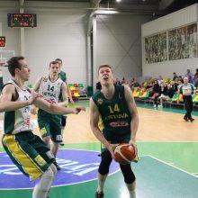 Lietuvos U-20 rinktinė įveikė metais jaunesnius krepšininkus