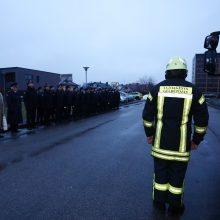 Vasario 16-osios rytą – išskirtinė Šilainių ugniagesių-gelbėtojų tradicija