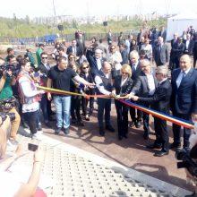 Rumunijos ir Lietuvos sukaktims įamžinti Bukarešte pasodintas ąžuolų parkas