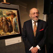 Prezidentė dailininkui S. Bakui įteiks valstybės apdovanojimą