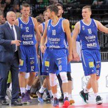 """Prienų-Birštono """"Vytautas"""" tapo Baltijos krepšinio lygos čempionu"""