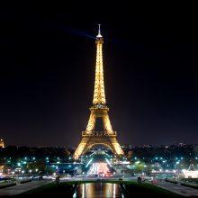 Šeštadienį dėl protestų neveiks Eiffelio bokštas, parduotuvės, muziejai