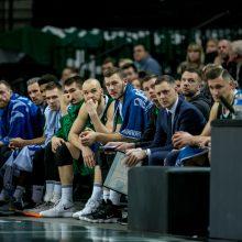 """""""Žalgirio"""" krepšininkai iškopė į Karaliaus Mindaugo taurės pusfinalį"""