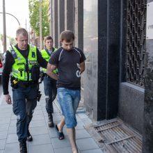 Apie sprogmenį Kauno oro uoste pranešęs vyras sulaikytas
