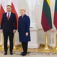 Lietuva ir Lenkija baigia teisiškai nustatyti šalių sieną