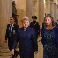 Lietuvos siekiams NATO viršūnių susitikime – Kongreso parama