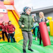 Vilniuje organizuojama didžiausia mokyklų sporto šventė