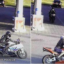 Vilniaus rajone iš avarijos vietos pabėgo motociklininkas <span style=color:red;>(gal atpažįstate?)</span>