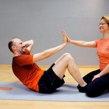 Sportas poroje skatina tobulėti ir pasiekti geresnių rezultatų