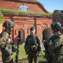 Kauno VII forte įsikūrė kariškiai