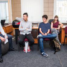 Užsienio studentai ne tik mokosi lietuvių kalbos