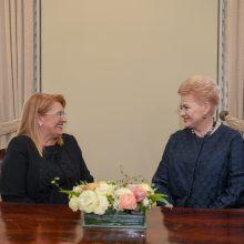 D. Grybauskaitė: Lietuvą ir Maltą sieja bendri interesai