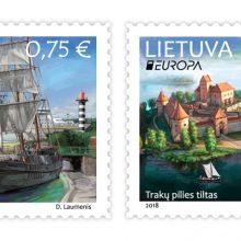 Europos šalis vienys tiltai pašto ženkluose