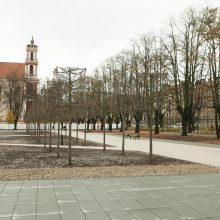 Lukiškių aikštė atnaujinta pažeidžiant įstatymus?